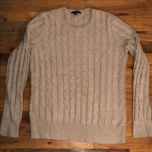 NWOT Gap Beige CableKnit Sweater